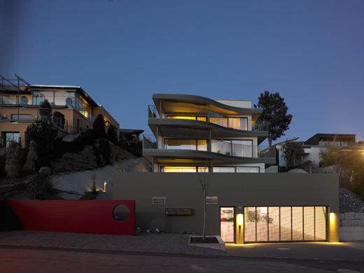 Parking / Untergeschoss © eta architekten