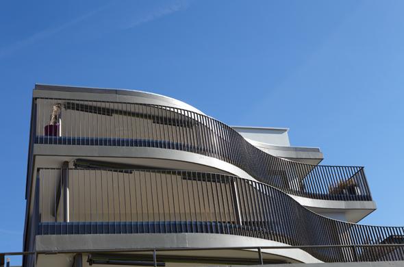 Fassadenansicht © eta architekten
