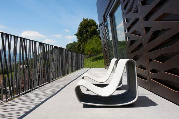 Terrasse © A. Gampiche