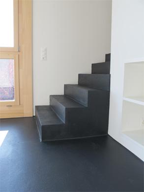 Treppe (WHG unten) © Norbert Mathis