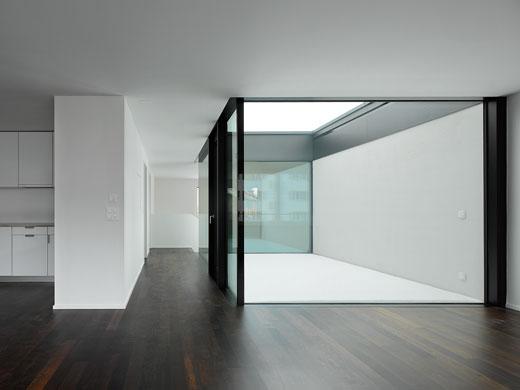 Wohnung mit Patio. © Roger Frei