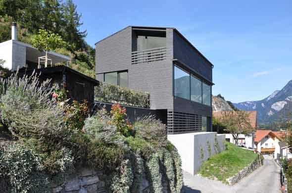 Vue sud-est © Albertin Partner Architekten GmbH