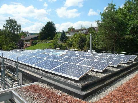 Solarstromanlagae © Sandri Architekten