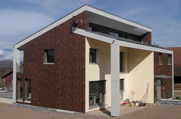 Einfamilienhaus in hessigkofen documentation suisse du for Dce batiment