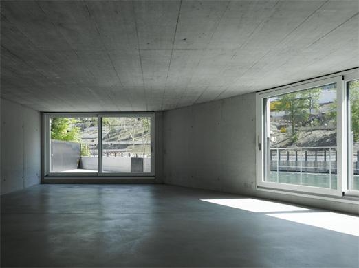 Südwestfassade Altbau 1:50 © Spreng + Partner Architekten AG