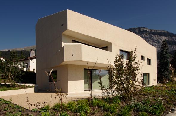 Ansicht Süd © Mierta & Kurt Lazzarini Architekten