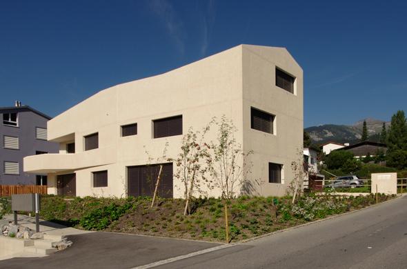 Ansicht Südost ©  Mierta & Kurt Lazzarini Architekten