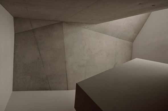 Deckeüber dem Treppenraum © Mierta & Kurt Lazzarini Architekten