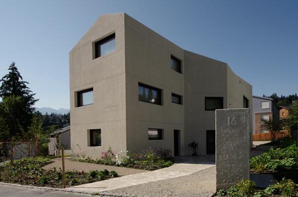 Ansicht Nord © Mierta & Kurt Lazzarini Architekten