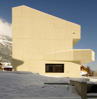 Ansicht West © Mierta & Kurt Lazzarini Architekten