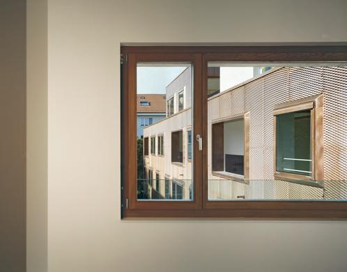 Innenraumfenster  Hofbebauung Hegenheimerstrasse | Schweizer Baudokumentation