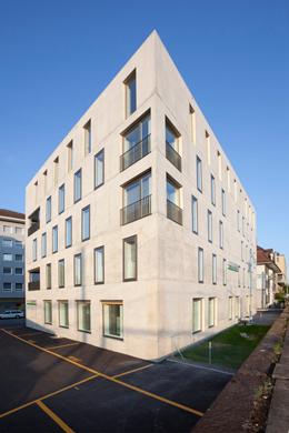 Fassade Nordost © Kaufmann und Arm AG
