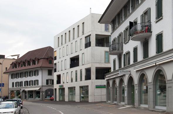 Fassade Südost © Kaufmann und Arm AG