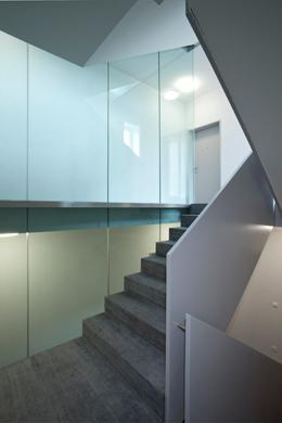 Treppenhaus © Kaufmann und Arm AG