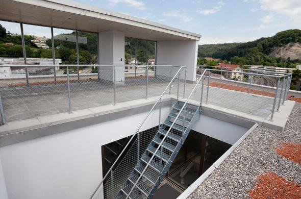 Dachterrasse © Kaufmann und Arm AG