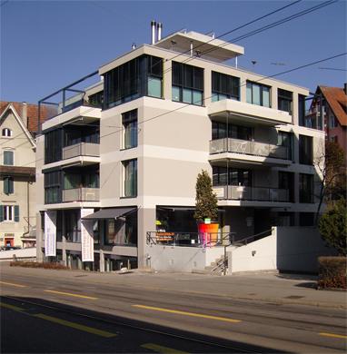 Fassadenansicht Sued-West Fassadenansicht Sued-Ost © BGS&Partner Architekten AG