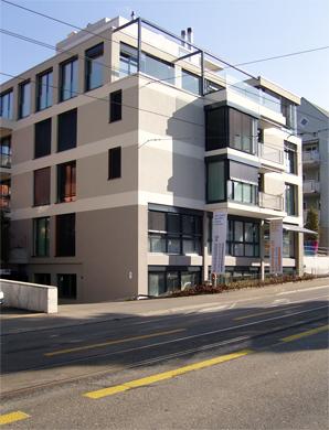 Fassadenansicht © BGS&Partner Architekten AG