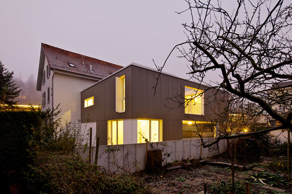 Gartenseite © 4dstudio | architekten