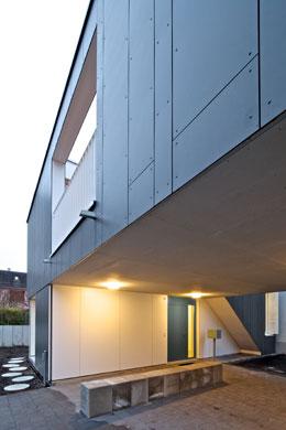 Eingang © 4dstudio | architekten