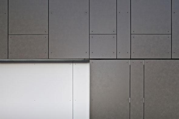 Fassadendetail © 4dstudio | architekten