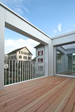 Loggia © 4dstudio | architekten