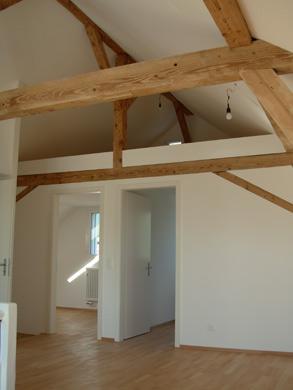 Dachwohnung © Bruno Hofer Architektur + Planung