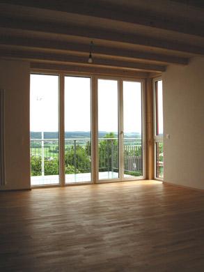 Wohnzimmer 1.OG © Bruno Hofer Architektur + Planung