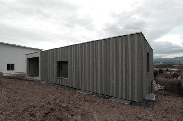 Einfamilienhaus d niken documentation suisse du batiment for Pramierte einfamilienhauser