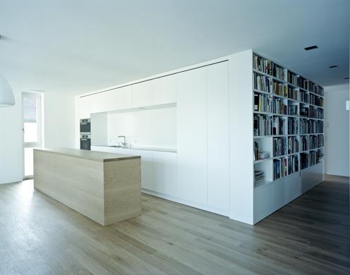 Wohn- und Essbereich © Dominique Marc Wehrli, La Chaux-de-Fonds