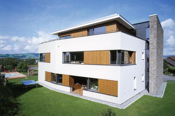 Neubau mehrfamilienhaus in schenkon documentation suisse for Mehrfamilienhaus neubau