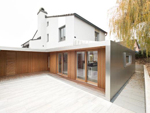 Erdgeschoss mit Umgebung © Eglin Schweizer Architekten AG