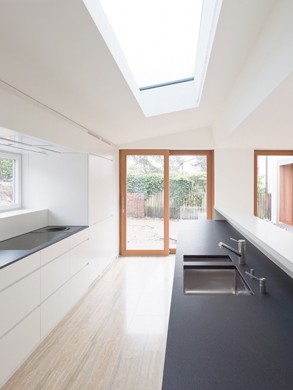 Schnitt © Eglin Schweizer Architekten AG