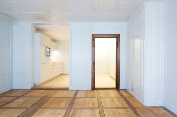 Innenansicht Wohnhaus Rosenberg © Rebsamen Nolè Partner Architeken AG