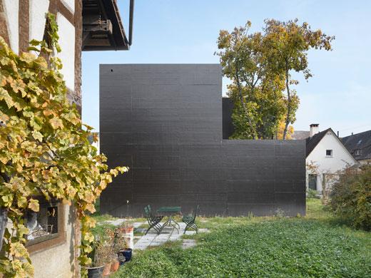 Westfassade  © Roger Frei, Zürich