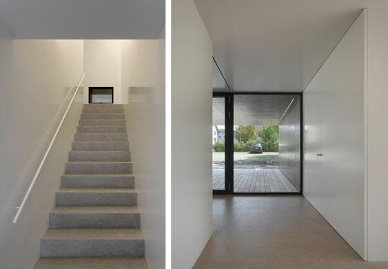 Treppenraum/Eingang © Roger Frei, Zürich
