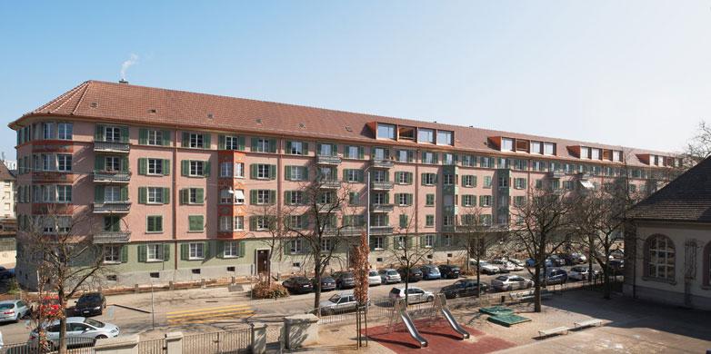 Städtebau © Rolf Schaffner Architekt