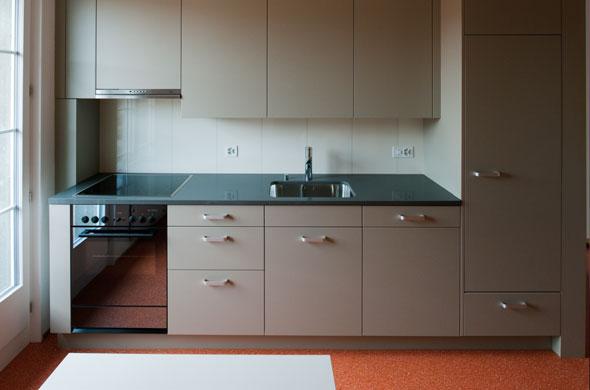 Küche © Rolf Schaffner Architekt