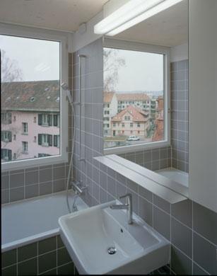 Bad 2 © Rolf Schaffner Architekt