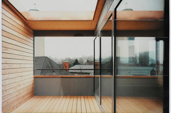 Innenansicht © Rolf Schaffner Architekt