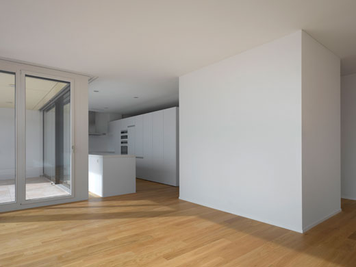 Küchenansicht Attikageschoss © Roger Frei