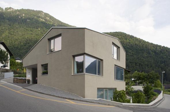 Einfamilienhaus br ndligasse chur documentation suisse for Pramierte einfamilienhauser