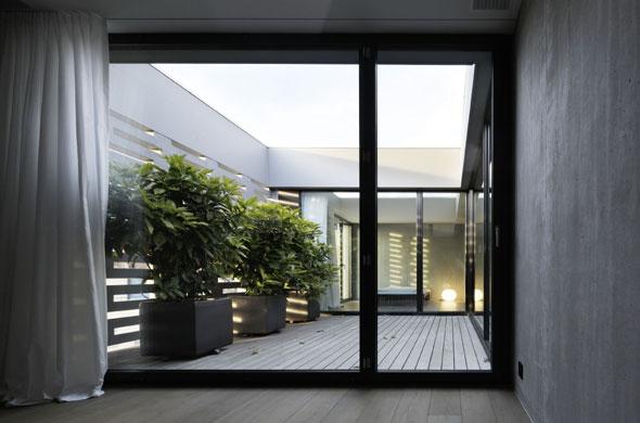 Terrasse 6. OG (Foto: R. Brunecky) © Foto: R. Brunecky