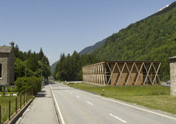 Strassenansicht © Architekturbüro Renato Maurizio