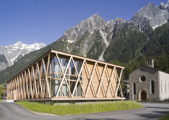 Nord-Westansicht © Architekturbüro Renato Maurizio