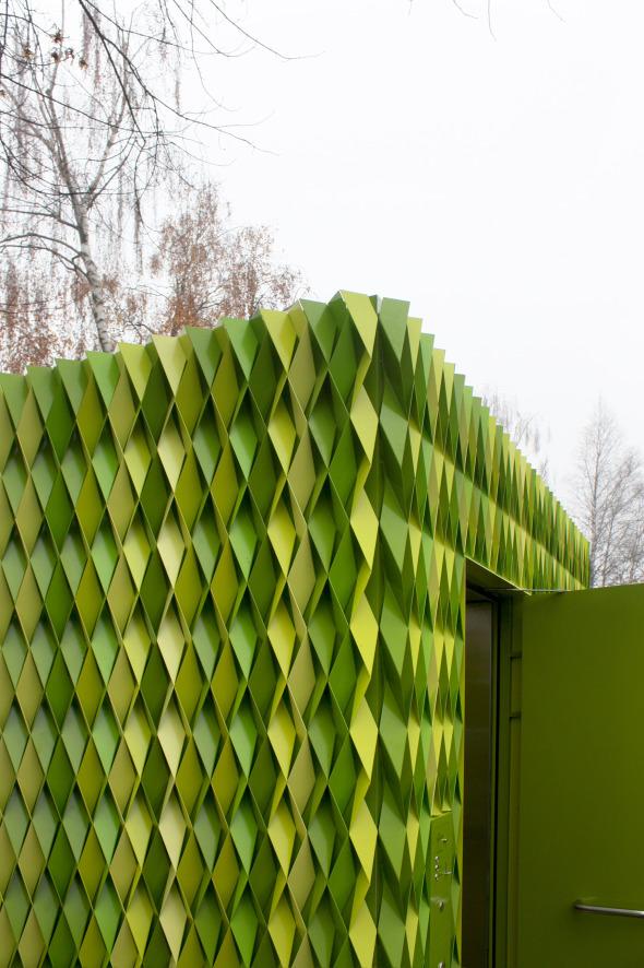 Detail Ecke  © Gramazio & Kohler
