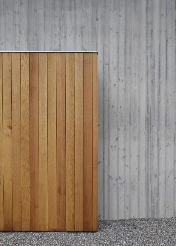 Ausschnitt Holztor © Marco Sieber