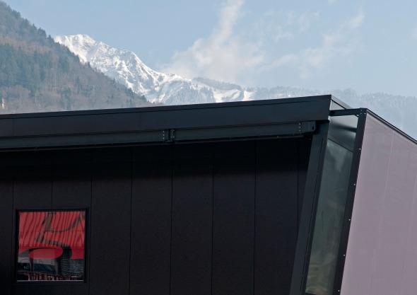 Détail de façade  © michelbovay.ch