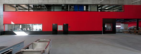 Vue atelier de production © michelbovay.ch