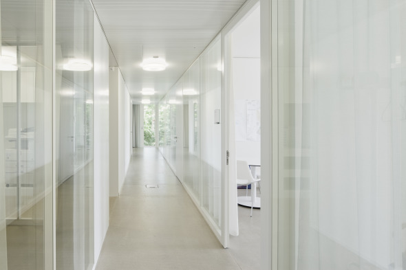 Korridor Bürozone © Dominique Marc Wehrli