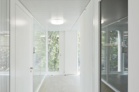 Glastrennwände Bürozone © Dominique Marc Wehrli